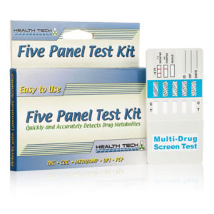 Five Panel Test Kit - Health Tech