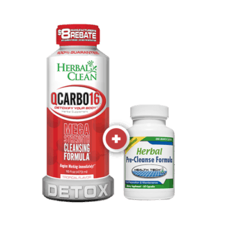 Herbal Clean QCarbo 16 & Herbal Pre Cleanse Promo