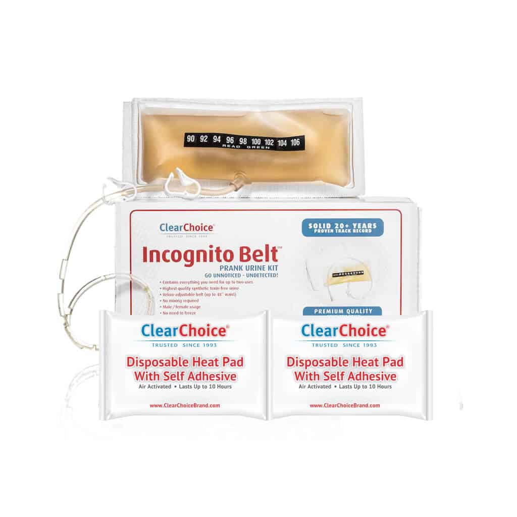 Incognito Belt with heat pads